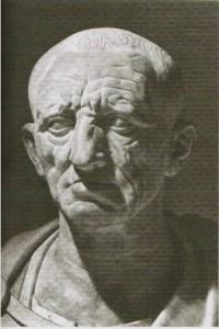 Cato gilt bis heute als Musterbeispiel des römischen Konservativen.