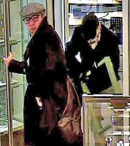 """Andy Warhol hätte es nicht besser gekonnt als das aktuelle Polizeifoto in den Polizeimeldungen für den Kanton Schaffhausen: Fahndungsfoto der Kapo Schaffhausen (sog. """"Schaffhauser Polizei"""")"""
