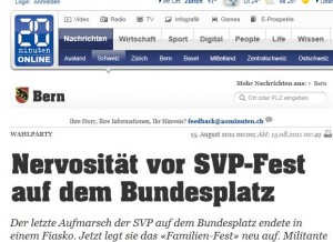 SVP-Aufmarsch in Bern?