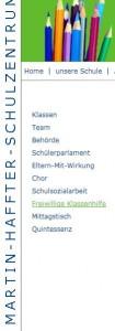 Das Martin Haffner-Schulhaus in Weinfelden: 30 % oder doch eher 70 % Ausländer? (Bildschirmfotoausriß: Martin Haffner-Schulzentrum Weinfelden)