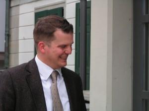 Rechtsanwalt und Großrat Hermann Lei: Er gab die Informationen über die Devisenspekualationen der Familie Hildebrandt weiter (Foto: HermannLei.ch / Schlagwort AG)