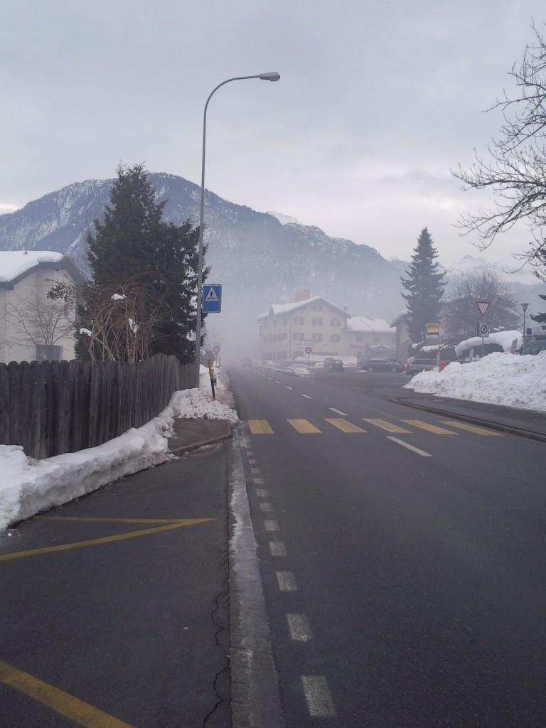 Brand beim Zeughaus in Thusis: Bislang liegt laut Polizeibericht.ch noch keine offizielle Medienmitteilung der Kantonspolizei Graubünden vor