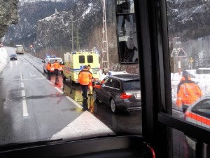 Personenunfall in Rothenbrunnen - Großes Chaos bei der Rhätischen Bahn