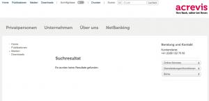 Große Geheimniskrämerei bzw. viel Ärger für die Kunden der ehemaligen Bank CA St. Gallen und der ehemaligen Swiss Regio-Bank: Bic-Code der Acrevis-Bank nicht zu herauszufinden.