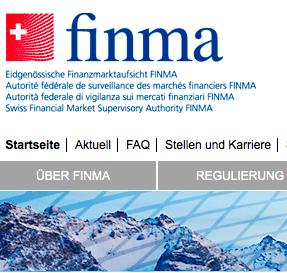 Die EFin (Eidg. Finanzmarktaufsicht) bzw. Finma hat ein Positionspapier zur Finanzmarktregulierung veröffentlicht
