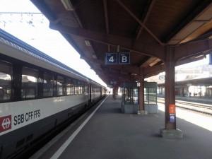 Zug der SBB: Die Schweizer fahren mehr Bahn und die SBB ist das einzige Unternehmen der Welt, das über mehr Kunden klagt... (Foto: Schlagwort AG)