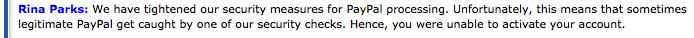 """Negative Erfahrungen mit iPage und Paypal: Der Hoster gibt an, man könne ohne Kreditkarte mit dem  alternativen Dienst Paypal zahlen und dann heißt es, man müsse """"manchmal doch"""" zusätzlich eine Kreditkarte zücken. So ein Schwachsinn!"""