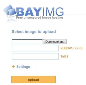 Bayimg.com, eine gute Flickr-Alternative