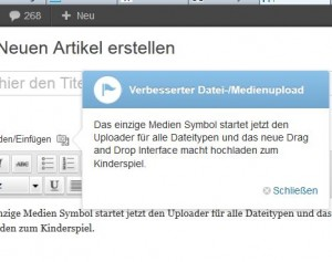 Neue Version von Wrdpre (wordpress) von Analphabeten gestaltet?