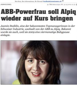 "Als ""Powerfrau"" gelobt"