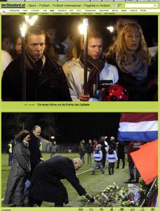 Kinder und Mutter ohne Vater Richard Nieuwenhuizen (Bildschirmfotoausriß: Der Standard)