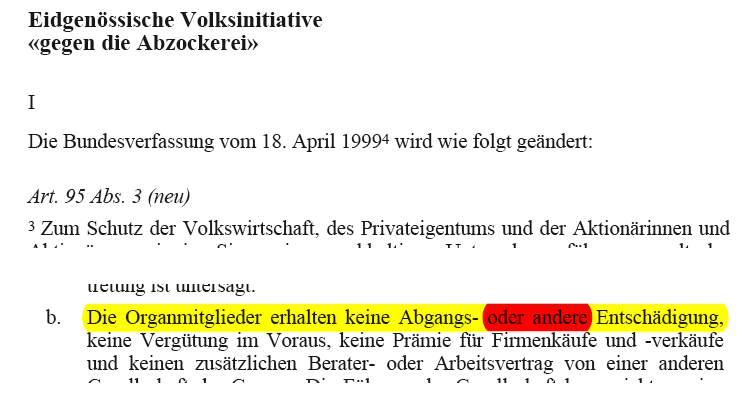 """Erschreckend: Die Abzockerei von Daniel (""""Dän"""") Vasella bei Novartis. Nur die Abzockerinitiative würde den Vasella-Exzeß von Novartis verhindern."""