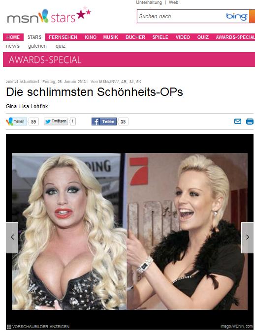 müssen (Bildschirmfotoausriß: MSN)