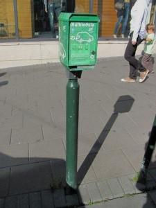 "Elektroauto-""Zapfsäule in Reykjavik (Island24.ch)"