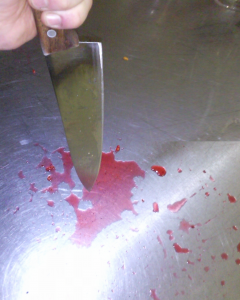 Mord in Fluringen: Die Frau lag blutüberströmt in der Küche. (Bild: Polizei24.ch)