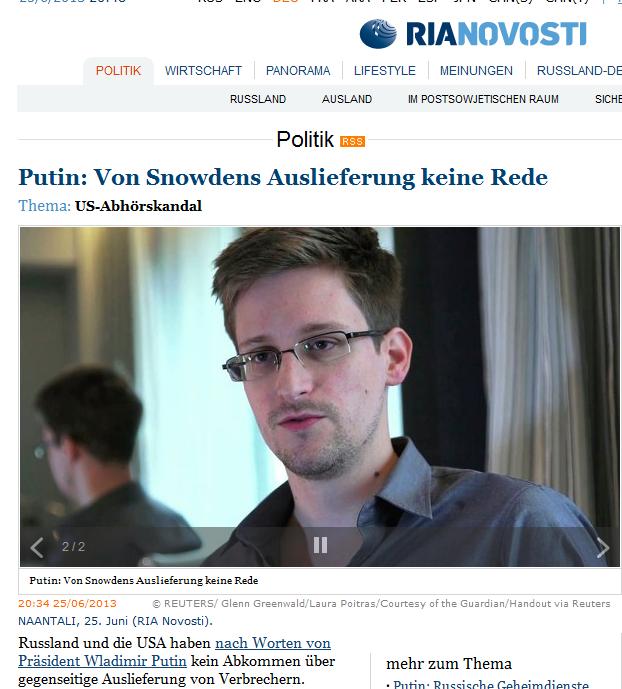Bildschirmfotoausriß: Ria Novosti