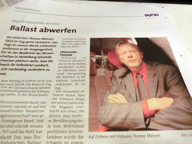 Foto: Ausriß aus der Zeitung der Syna-Gewerkschaft (SchweizBlog.ch)