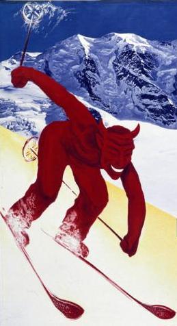Teufliche Geldverschwendung von Gebührengeldern bei den olympischen Winterspielen in Sotschi 2014: Die Schweiz braucht als Demokratie kein Staatsfernsehen SRG.