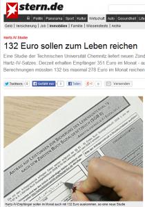 Maßlos ausgebauchte Sozialsysteme sorgten in Deutschland am Schluß dafür, daß für wirklich Bedürftige nichts mehr da ist. Die Schweiz baut diese leider auch aus, ist aber maßvoller darin. Mäßigung - eine typisch schweizerische Forderung - scheint wie Eigenverantwortung offenbar auch gut für die Gesundheit. (Bildschirmfotoausriß: Stern)
