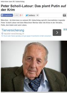 Bildschirmfotoausriß: Bayerischer Merkur