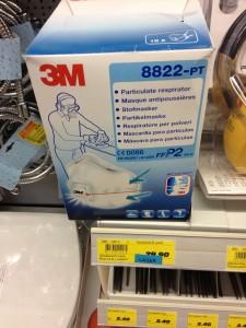 Die Staubmaske von 3M kostet in der Landi rd. 30 Fr., im Internet ist sie viel billiger zu bekommen.