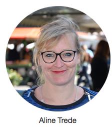 Einseitige Weltsicht: Aline Trede (Fotoausriß: Webseite)
