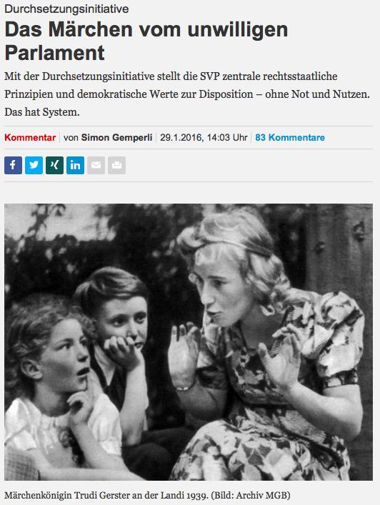 NZZ-Märchenstunde zur Durchsetzungsinitiative mit Simon Gemperle (Bildschirmfotoausriß: NZZ.ch)