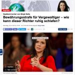 Birgit Kelle im Focus über ein skandalöses Urteil