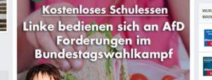 """Dann mal wieder falsch """"AfD Forderungen"""". Frauke Petry hat ein echtes Problem mit ihren Deutschkenntnissen. Und zwar notorisch. Warum hilft einer Person in ihrer Position niemand?"""